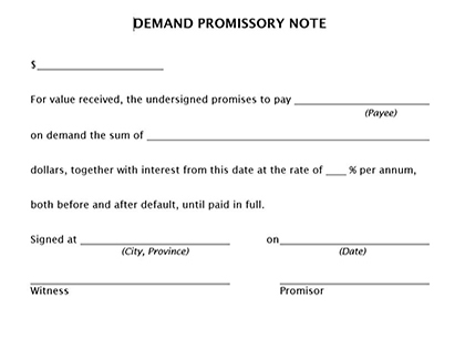 Doc12751650 Free Download Promissory Note Promisary Note – Free Printable Promissory Note Template
